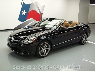 2014 Mercedes - Benz E350 Convertible Soft Top P1 2k Texas Direct Auto photo