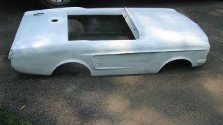 Amusment Park Ride 1967 Mustang Fiberglass Body. photo