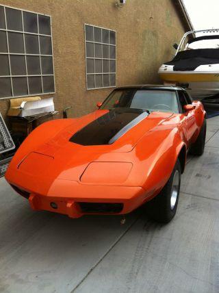 1977 Chevrolet Corvette 4 Speed photo