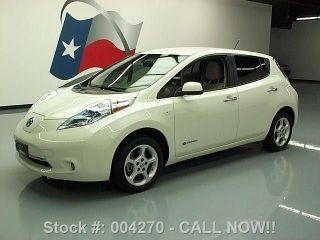 2011 Nissan Leaf Sl Zero Emission Electric Only 39k Texas Direct Auto photo
