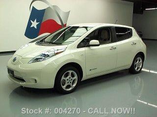 2011 Nissan Leaf Sl Zero Emission Electric Only 39k Texas Direct Auto photo