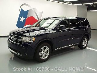 2012 Dodge Durango Sxt 7pass Third Row Alloy Wheels 23k Texas Direct Auto photo