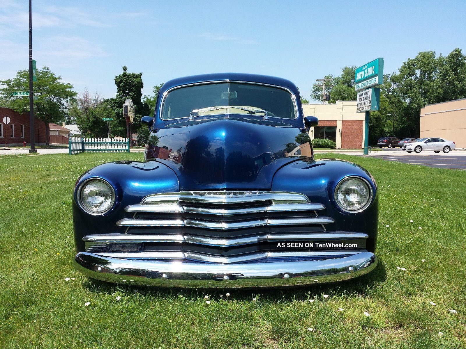 1947 chevrolet 4 door sedan for 1947 dodge 2 door sedan