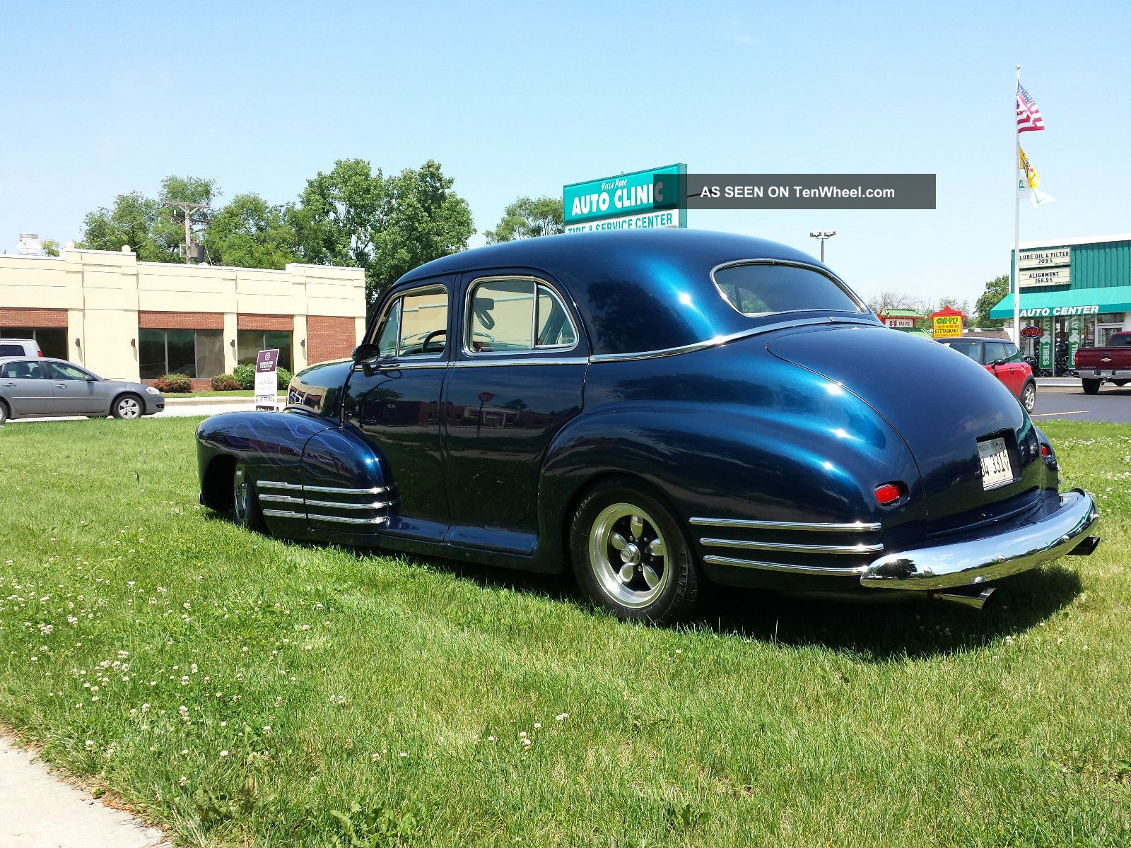 1947 chevrolet 4 door sedan for 1947 plymouth 4 door sedan