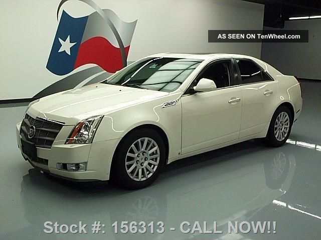 2008 Cadillac Cts Pano 52k Texas Direct Auto CTS photo