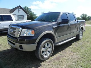 2007 Ford F - 150 King Ranch Crew Cab Pickup 4 - Door 5.  4l photo
