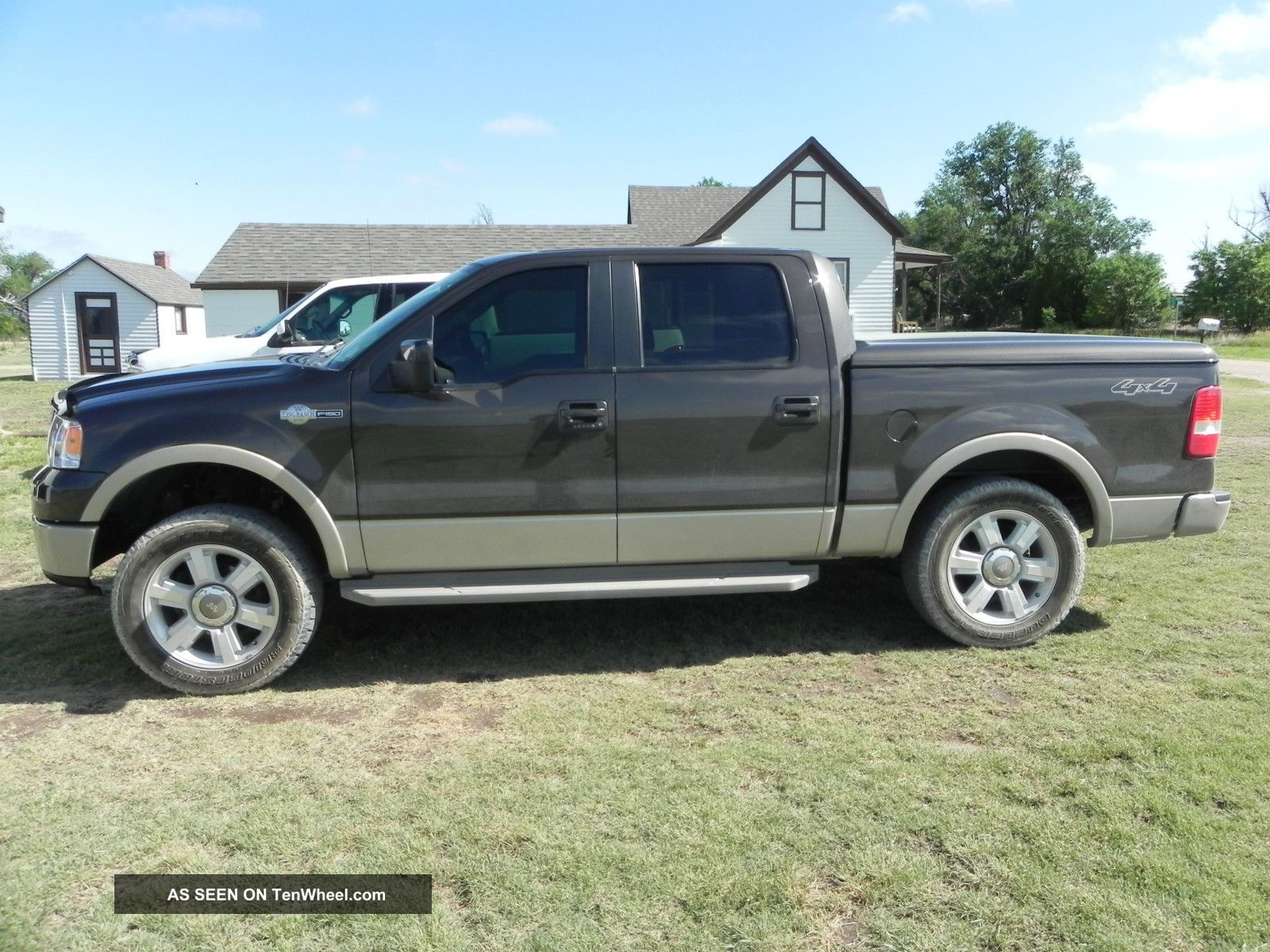 2007 Ford F 150 King Ranch Crew Cab Pickup 4 Door 5 4l