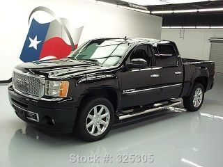 2008 Gmc Sierra Denali Crew Awd Dvd 61k Mi Texas Direct Auto photo