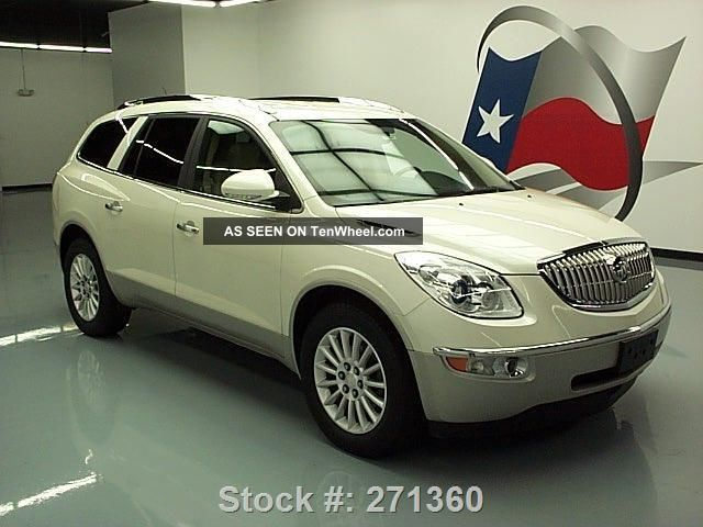 2011 buick enclave cxl awd 7 pass dvd texas direct auto. Black Bedroom Furniture Sets. Home Design Ideas