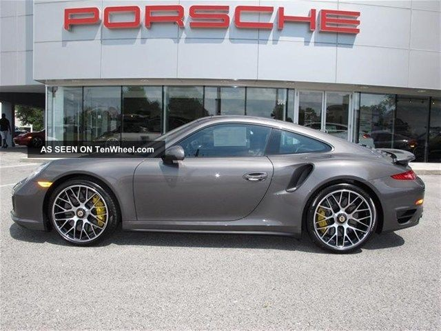 2014 Porsche 911 Turbo S Gray Color Car 911 photo