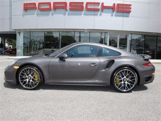 2014 Porsche 911 Turbo S Gray Color Car photo