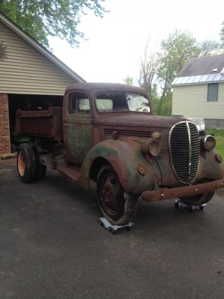 1939 Ford Truck With Dump photo