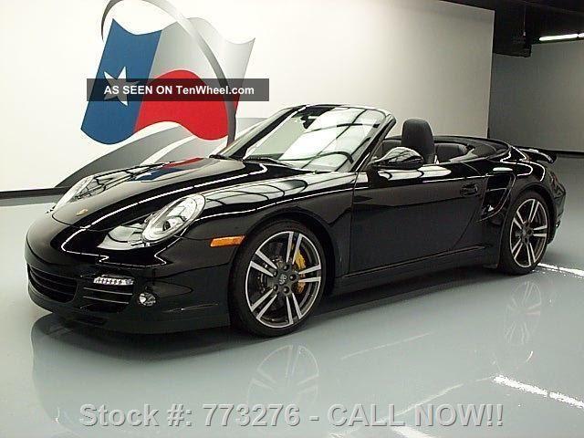 2012 Porsche 911 Turbo S Hardtop Awd Bi - Turbo 3k Mi Texas Direct Auto 911 photo