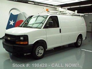 2008 Chevy Express 2500 Cargo Van Custom Shelving 68k Texas Direct Auto photo