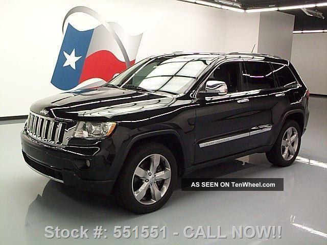 2011 Jeep Grand Cherokee Overland Hemi 4x4 Texas Direct Auto Grand Cherokee photo