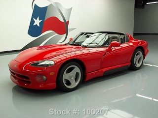 1992 Dodge Viper Rt / 10 Roadster Rare First Year Only 3k Texas Direct Auto photo