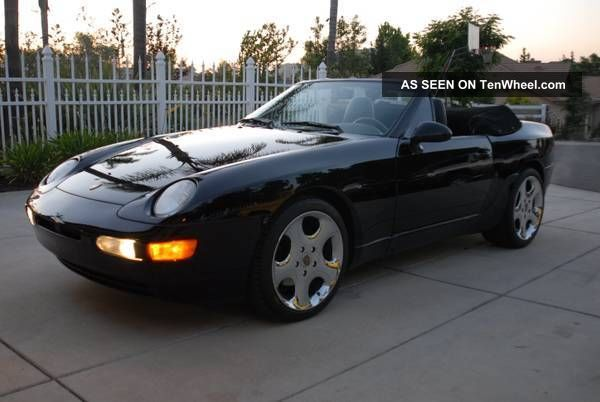1994 Porsche 968 Base Convertible 2 - Door 3.  0l 968 photo