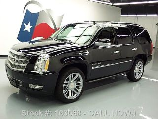 2011 Cadillac Escalade Platinum Awd Dvd 43k Texas Direct Auto photo