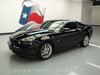 2010 Ford Mustang Gt Premium Automatic Htd 53k Texas Direct Auto photo