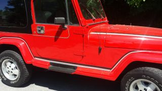 1989 Jeep Wrangler Laredo Sport Utility 2 - Door 4.  2l photo