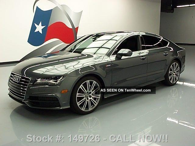 2012 Audi A7 3.  0t Quattro Prestige Awd 19k Texas Direct Auto A7 photo