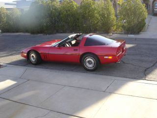 1987 Chevrolet Corvette Base Hatchback 2 - Door 5.  7l photo