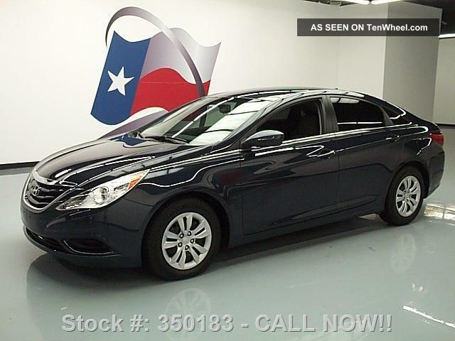 2012 Hyundai Sonata Gls Automatic Cruise Control 63k Mi Texas Direct Auto Sonata photo