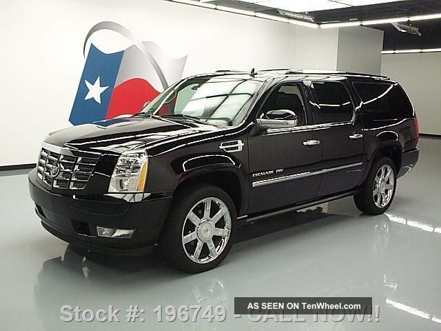 2011 Cadillac Escalade Esv Prem 22 ' S 44k Mi Texas Direct Auto Escalade photo