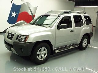 2009 Nissan Xterra S Automatic Side Steps Roof Rack 69k Texas Direct Auto photo