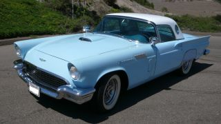 1957 Ford Thunderbird 312 / 245hp V8 Automatic With Factory Hardtop photo