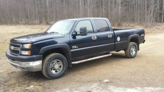 20006 Silerado 4x4 Crew Cab Duramax 4x4 photo