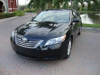 2007 Toyota Camry Hybrid Xle Sedan Black photo