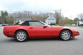 1992 Chevrolet Corvette Convertible photo