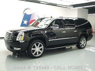 2012 Cadillac Escalade Esv Luxury Dvd 19k Texas Direct Auto photo