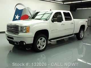 2012 Gmc Sierra 2500hd Denali Crew Diesel Z71 4x4 36k Texas Direct Auto photo