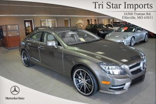 2013 Cls550 4matic Turbo 4.  7l V8 32v Automatic Sedan Premium photo