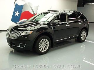 2013 Lincoln Mkx Awd Climate Seats 756 Mi Texas Direct Auto photo