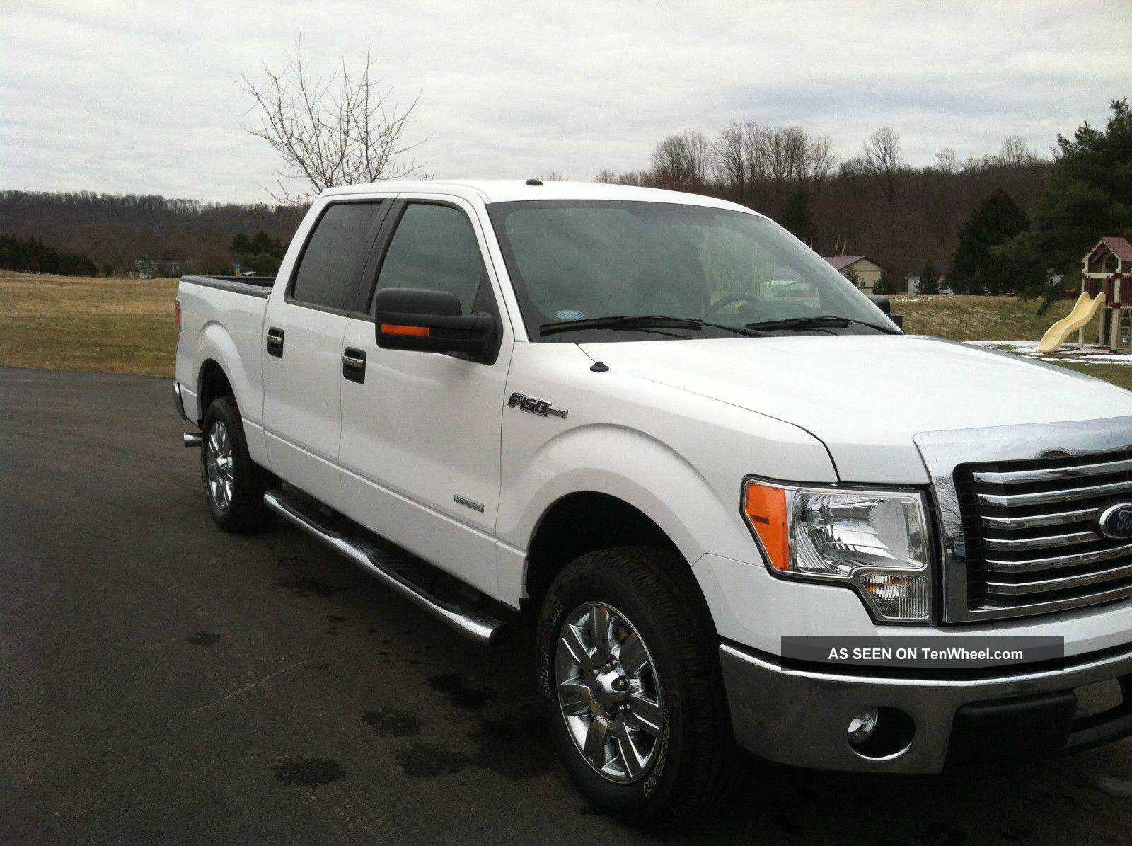 2012 ford f 150 xlt crew cab pickup 4 door 3 5l. Black Bedroom Furniture Sets. Home Design Ideas