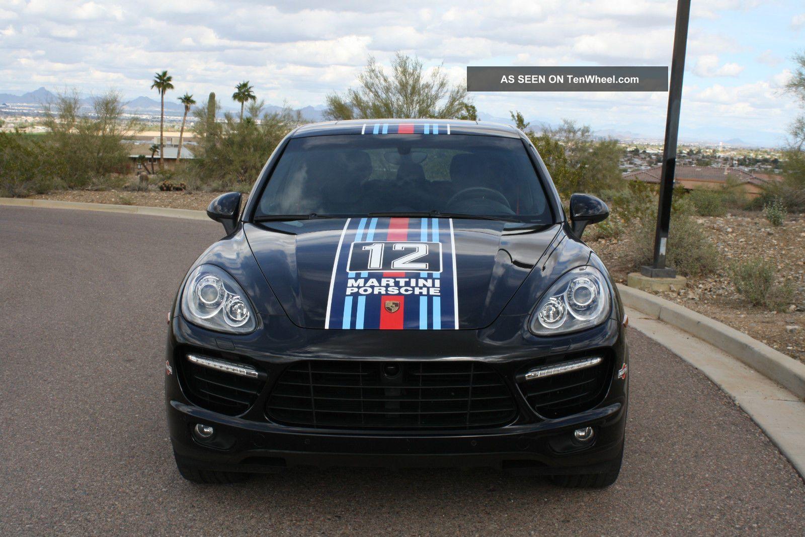 2012 Porsche Cayenne Turbo Sport Utility 4 Door 4 8l