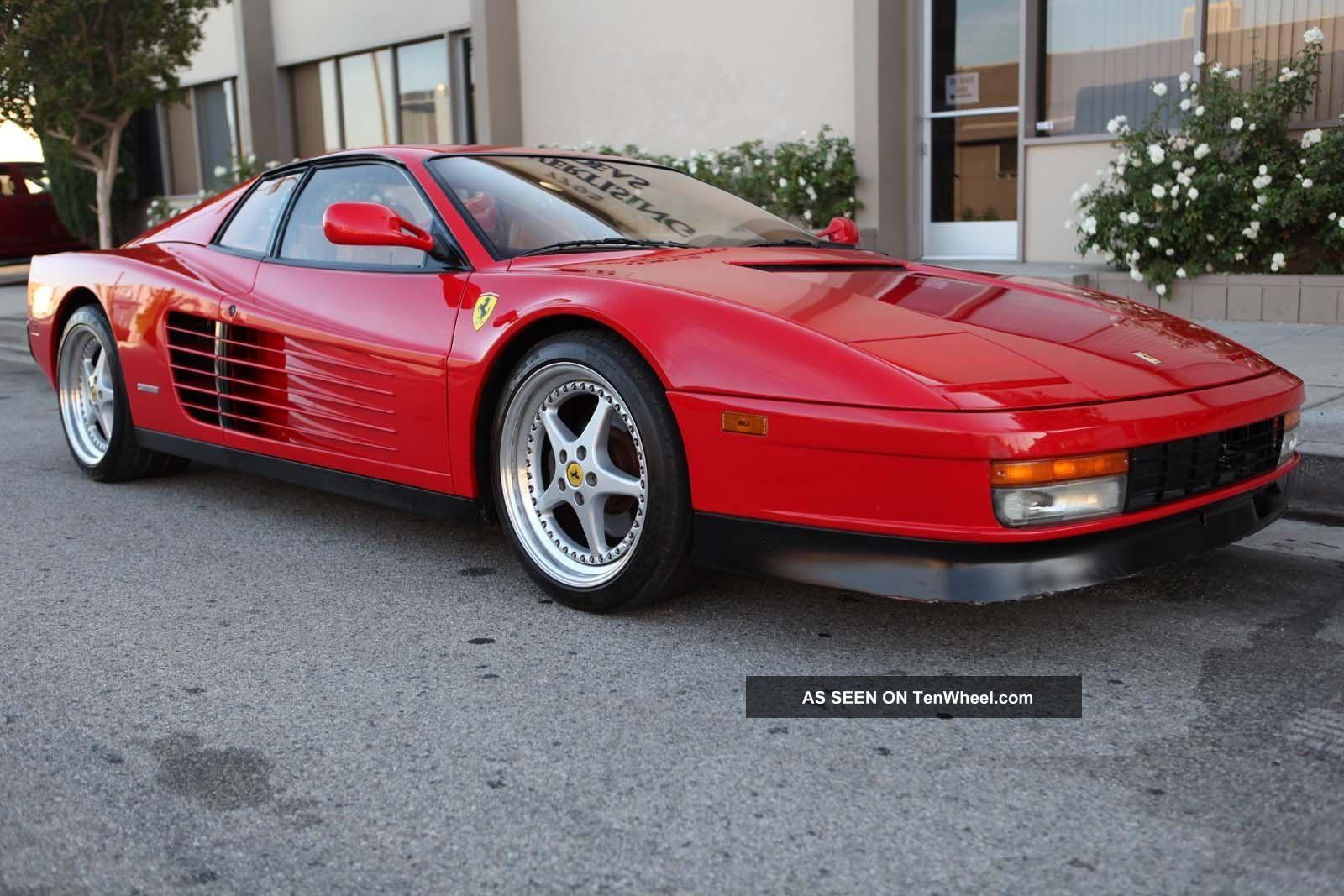 1991 Ferrari Testarossa Calif Car Example Reasonable Reserve Testarossa photo