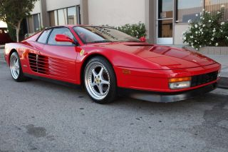 1991 Ferrari Testarossa Calif Car Example Reasonable Reserve photo