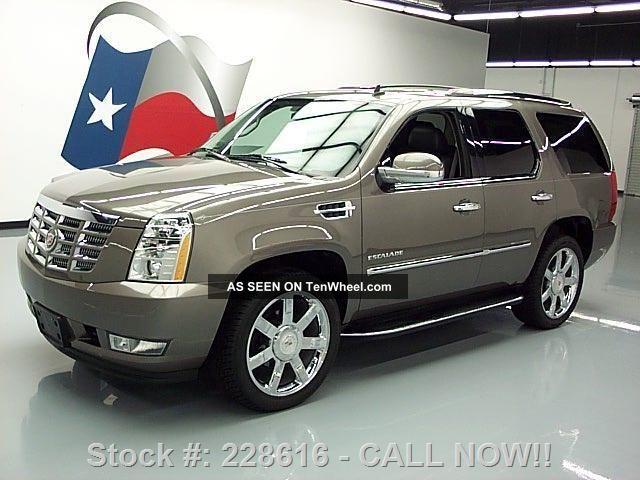 2011 Cadillac Escalade Lux Awd Dvd 22 ' S 46k Texas Direct Auto Escalade photo