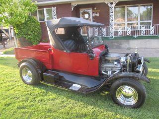 1925 Ford Model T Roadster Pick - Up Street Rod.  All Metal Not Fiberglass photo