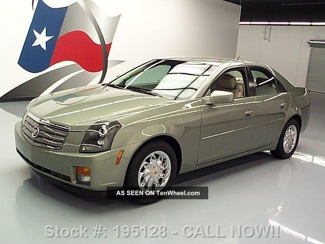2005 Cadillac Cts 3.  6 Sedan Vogue Wheels 78k Mi Texas Direct Auto CTS photo