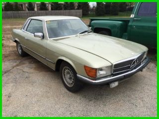 1981 Euro Spec Mercedes,  280 Slc,  Km Car,  Pa Historic Title, photo