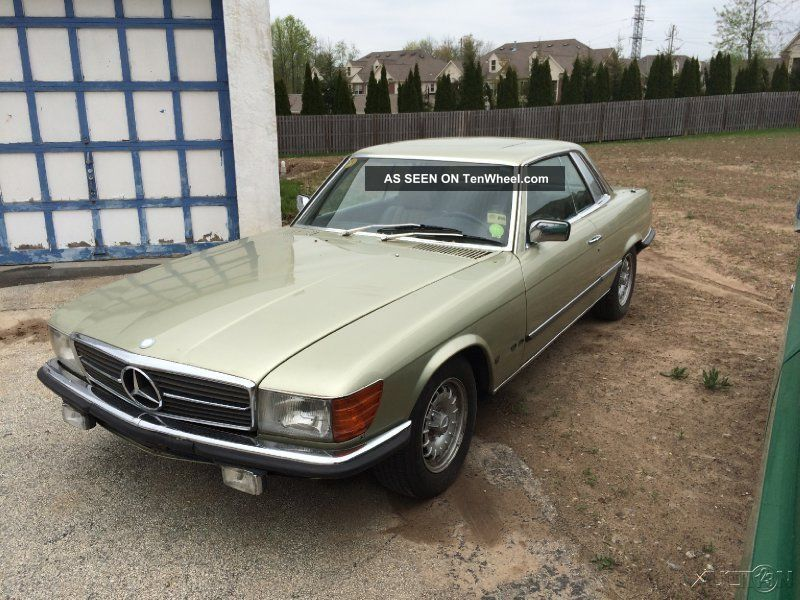 1981 euro spec mercedes 280 slc km car pa historic title. Black Bedroom Furniture Sets. Home Design Ideas