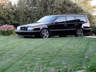 1995 Volvo 850 / 855 T - 5r Black / Black Wagon photo