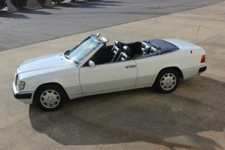 And Superbly Maintained 1993 Mercedes 300ce Convertible photo