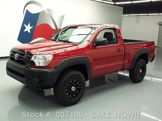 2012 Toyota Tacoma Reg Cab 4x4 Auto Alloy Wheels 36k Mi Texas Direct Auto photo