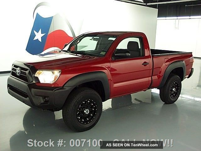 2012 toyota tacoma reg cab 4x4 auto alloy wheels 36k mi. Black Bedroom Furniture Sets. Home Design Ideas